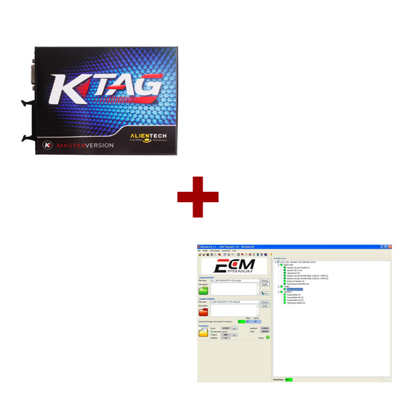 Supplier Unlimited tokens Ktag 2.11 Ktag firmware V6.070 + ECM Titanium