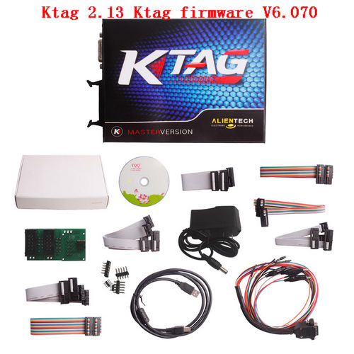 Supplier Ktag china Ktag 2.13 with ktag firmware V6.070 Unlimited tokens