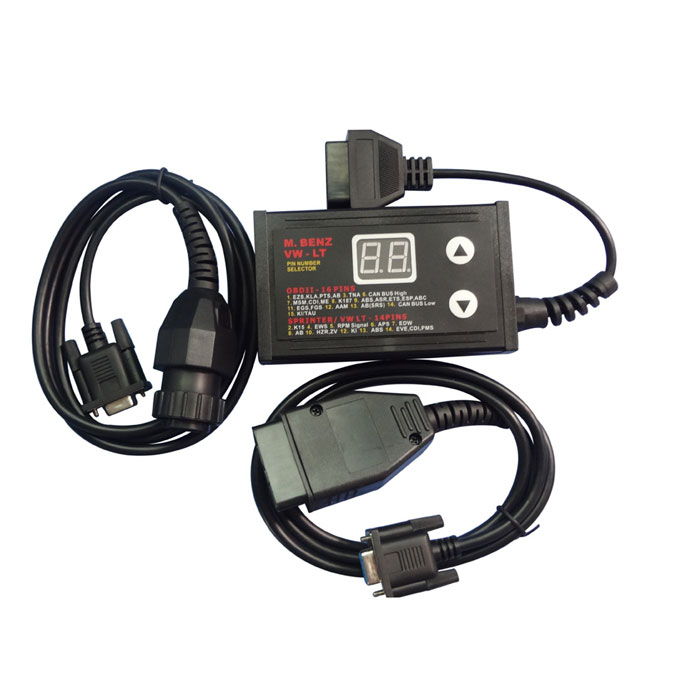 Supplier MB VW 2 in 1 Auto 16 &14 Pin Number Selector